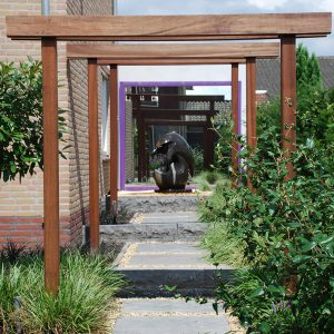 tuinvoorbeelden pergola