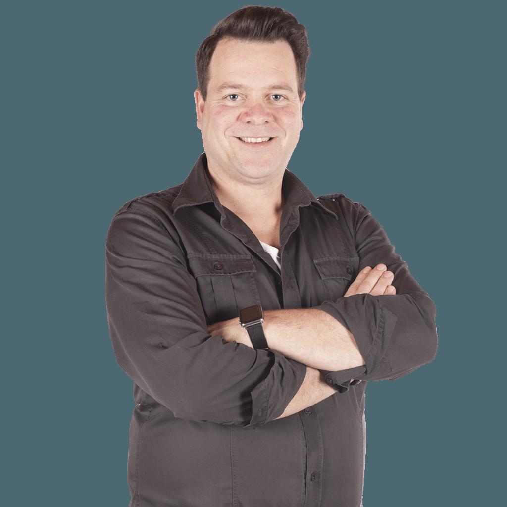 tuinontwerper Roy Bindels