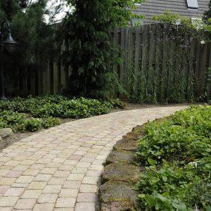 tuinvoorbeelden sierbestrating