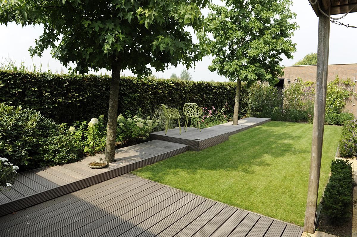 Houten Tuin Vlonders : Vlonder het hout geeft uw tuin een warme uitstraling bindels tuinen