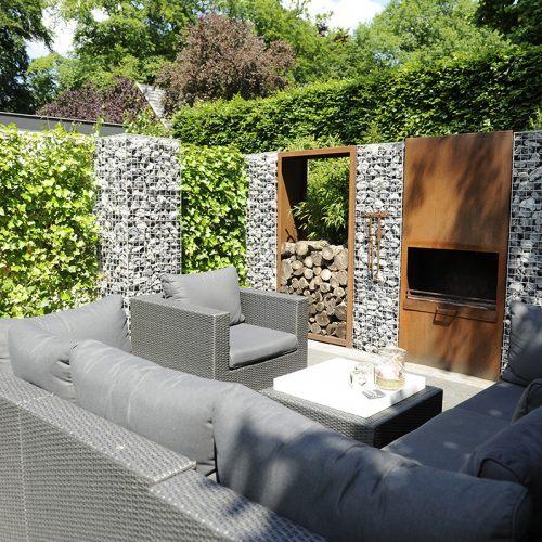 Lounge tuin, als u gaat voor relaxen en samenzijn