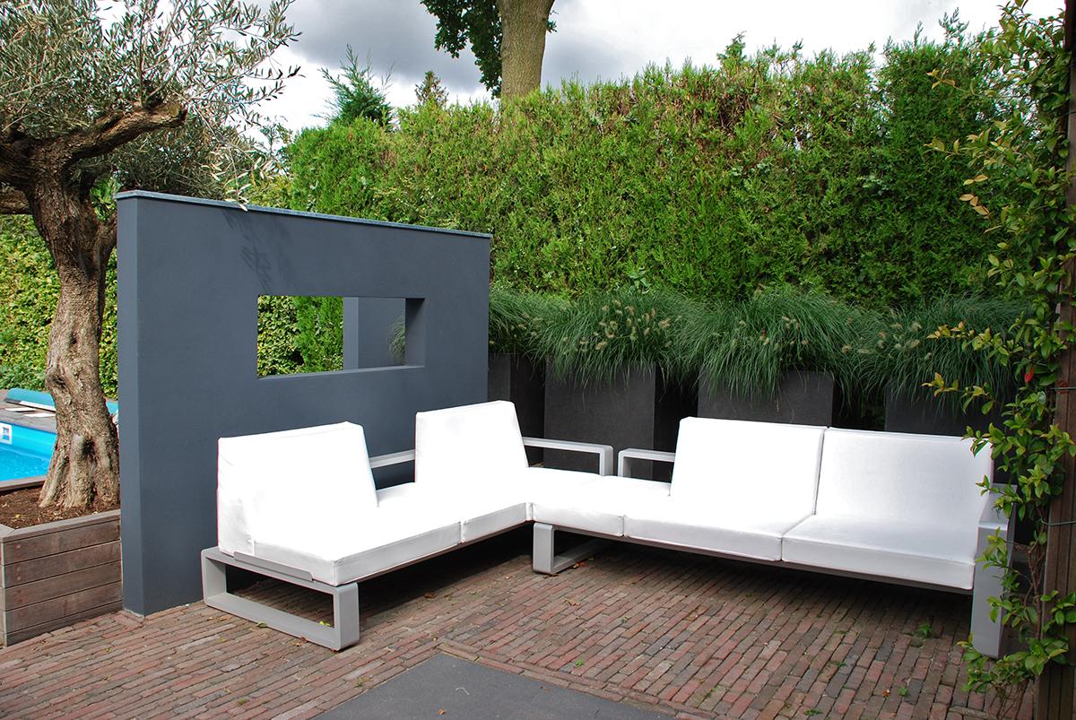 Moderne tuin geef uw tuin een luxe uitstraling bindels tuinen - Moderne tuin foto ...