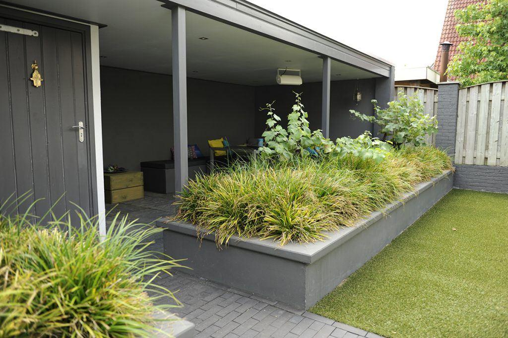 tuinvoorbeelden onderhoudsvriendelijke tuin