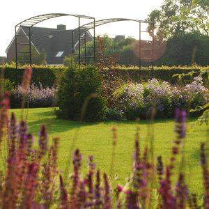 tuinvoorbeelden romantische tuin