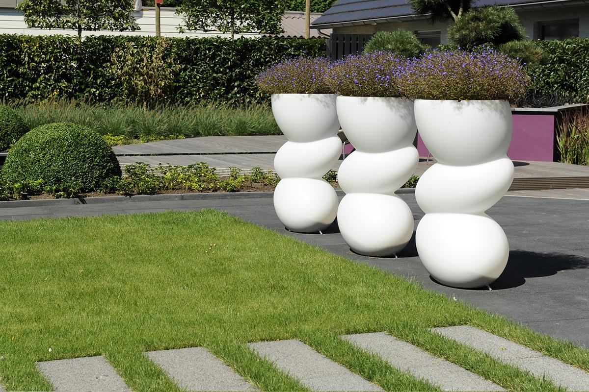 Styling tuindecoratie om uw tuin helemaal af te maken bindels